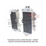 239-KF250A MSD Radiator KXF250 '06-'08