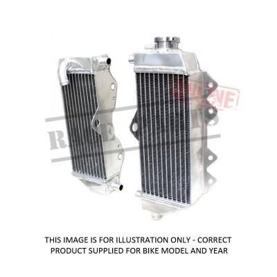 239-HF450X MSD Radiator CRF450X '05-'17