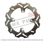 222-MSD4155 MSD Brake Disc-Rear