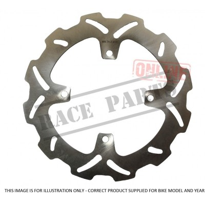 222-MSD890 Brake Disc-Rear-184mm