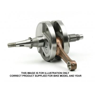 277-CC6050-BWX Crankshaft-YZF250 '03-'13