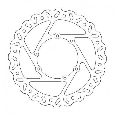 221-110644 Moto-Master Brake Disc-Front-260mm