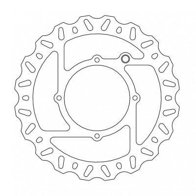 221-110686 Moto-Master Brake Disc-Front-240mm