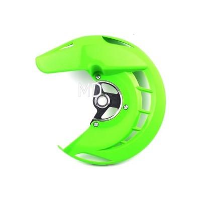 282-FDG03 Front Brake Disc Protector-Green KX/KXF/KLX