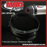 282-EPG01B 4-Stroke Exhaust Silencer Guard-Black