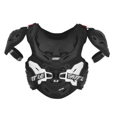 Leatt Chest Protector 5.5 Pro HD Junior Black/White