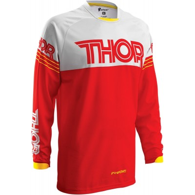 Thor Phase Hyperion Yth Red/Wht Jersey