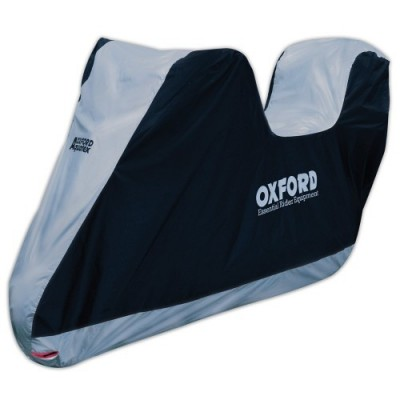 Oxford Aquatex Bike Cover with Top Box - Small/Scooter