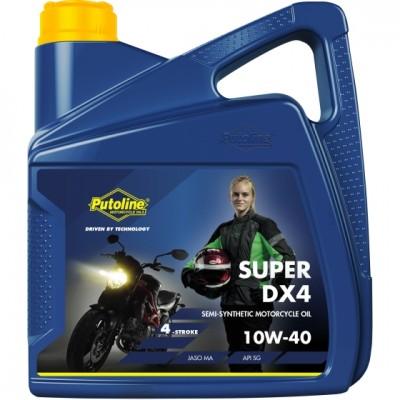 Putoline DX4 4T 10W40 4Lt