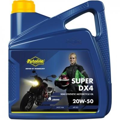 Putoline DX4 4T 20W50 4Lt