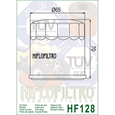 NEW HIFLO HF128 OIL FILTER Kawasaki Mule KAF300 KAF400 KAF620 FAST FREE SHIP 1